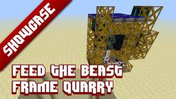 Frame Quarry - Feed The Beast Minecraft Map & Project