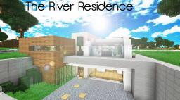 [Modern] The River Residence - Riverside home (Collab with TheJeterBro) Minecraft Project
