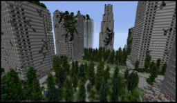 Fujiwara's DEAD CITY: Year 115 after Apocalypse (XXL WIP) Minecraft Map & Project