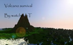 Volcano Survival Minecraft Map & Project