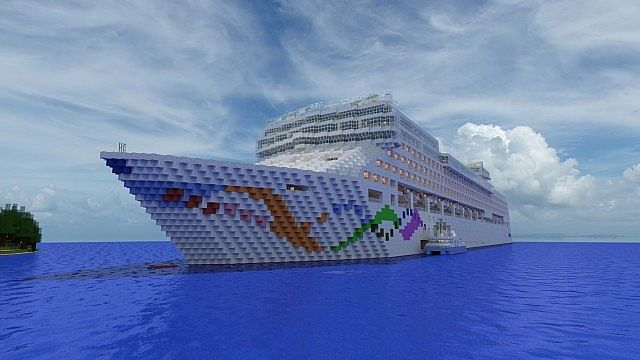 Norwegian Pearl 1 1 Scale Download Available Minecraft