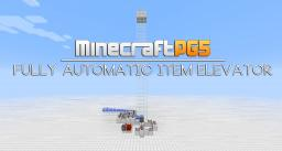 Simple and fully automatic item elevator - Redstone Update Minecraft Map & Project