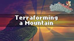 Minecraft Terraforming - Making a Basic Mountain Minecraft Blog