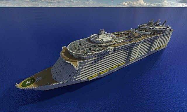Cruise Ships in Creative Mode! - Creative Mode - Minecraft ...
