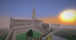 Salisbury Cathedral Minecraft Project