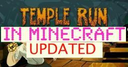 (UPDATED!!!) TEMPLE RUN in MINECRAFT Minecraft