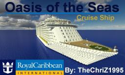 Oasis of the Seas [Full Scale Replica][High Detail] Minecraft