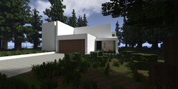 Slate | Riverside Contemporary House | Dalewood Minecraft Map & Project