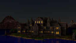 Magic Kingdom-The Castle Of The Prince Minecraft Map & Project