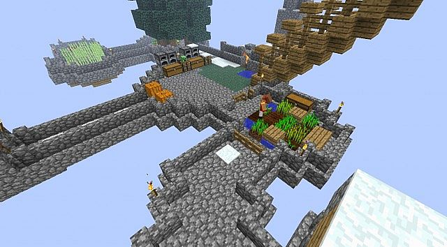 Player owned Skyblock Island