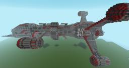 Ragnur's Greebling Tutorial: the complete spaceship! Minecraft