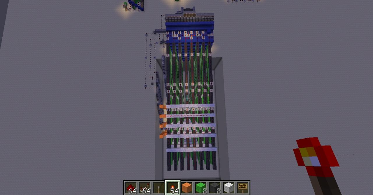Redstone Computer from 11 year old Minecraft Project