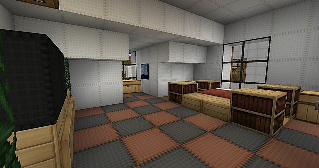 Cape Cod House Furnished Minecraft Project
