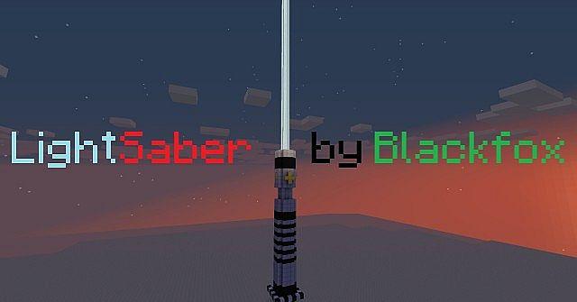Obi Wan Kenobi Lightsaber Minecraft Project