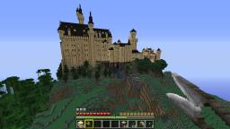 Neuschwanstein castle Minecraft Map & Project