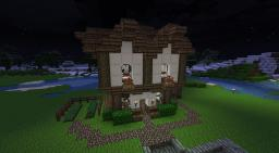 Medieval Living Minecraft Map & Project
