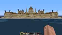 Hungarian Parlament building Minecraft Map & Project