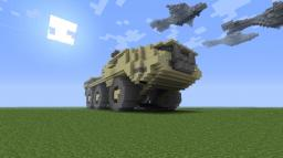 Mobile Anti-Aircraft Weapons Platform M510 Siegework Ultra-Heavy Minecraft Map & Project