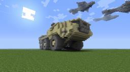 Mobile Anti-Aircraft Weapons Platform M510 Siegework Ultra-Heavy Minecraft