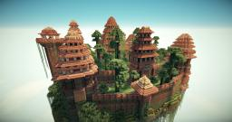 Castle mushroom Minecraft Map & Project