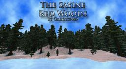 The Sayine Red Woods Minecraft Map & Project