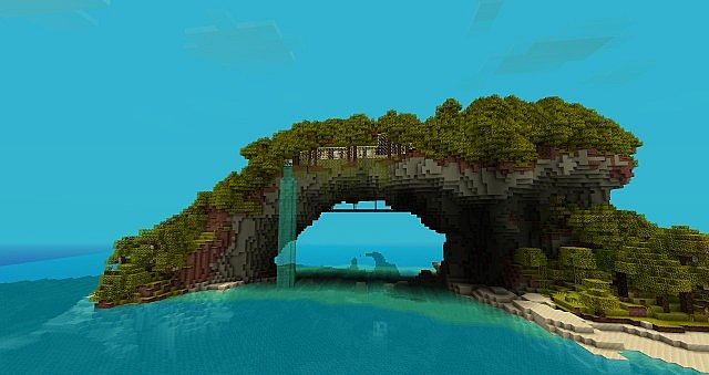 Island Home Minecraft Project