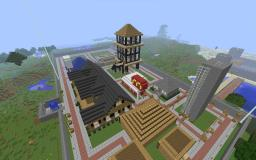 my server world Minecraft Project