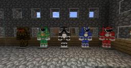 Power rangers minecraft!! Minecraft Texture Pack