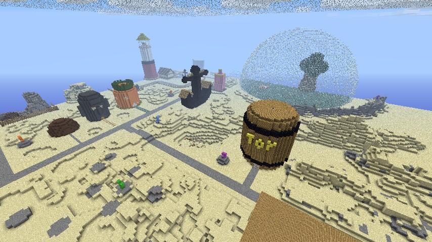 Скачать карту bikini bottom для minecraft 1.5.2