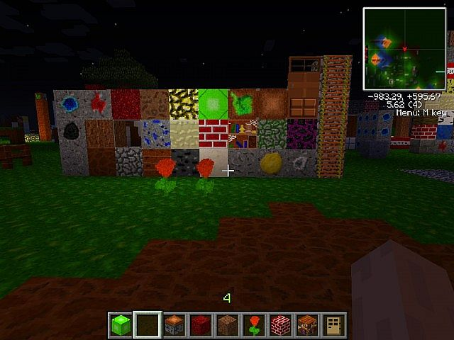 All textures excluding wool