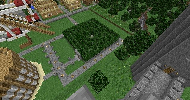 how to build mazes in mine craft