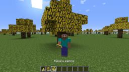 Banana Trees! Minecraft Mod