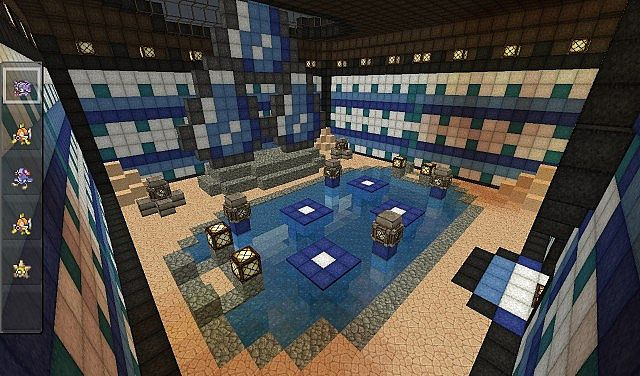 Inside of the first Gym Water