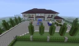 Very realistic mansion Minecraft Map & Project