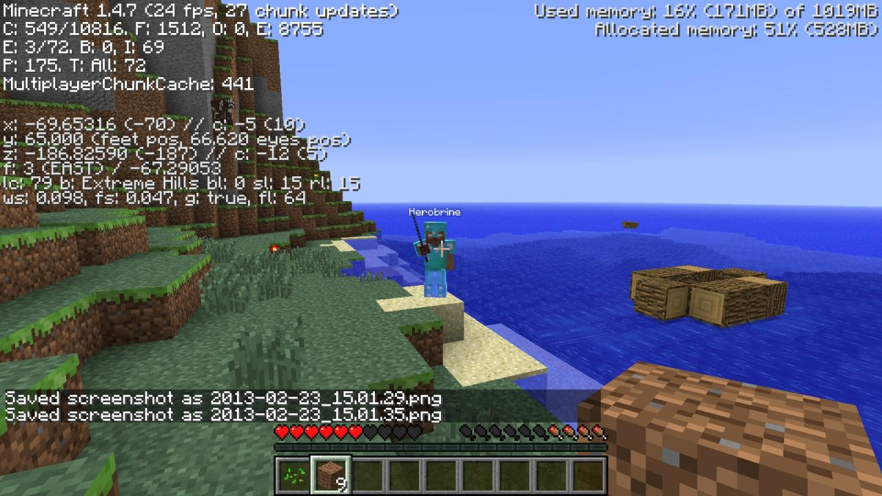Herobrine Is Real As Real Can Be Minecraft Blog