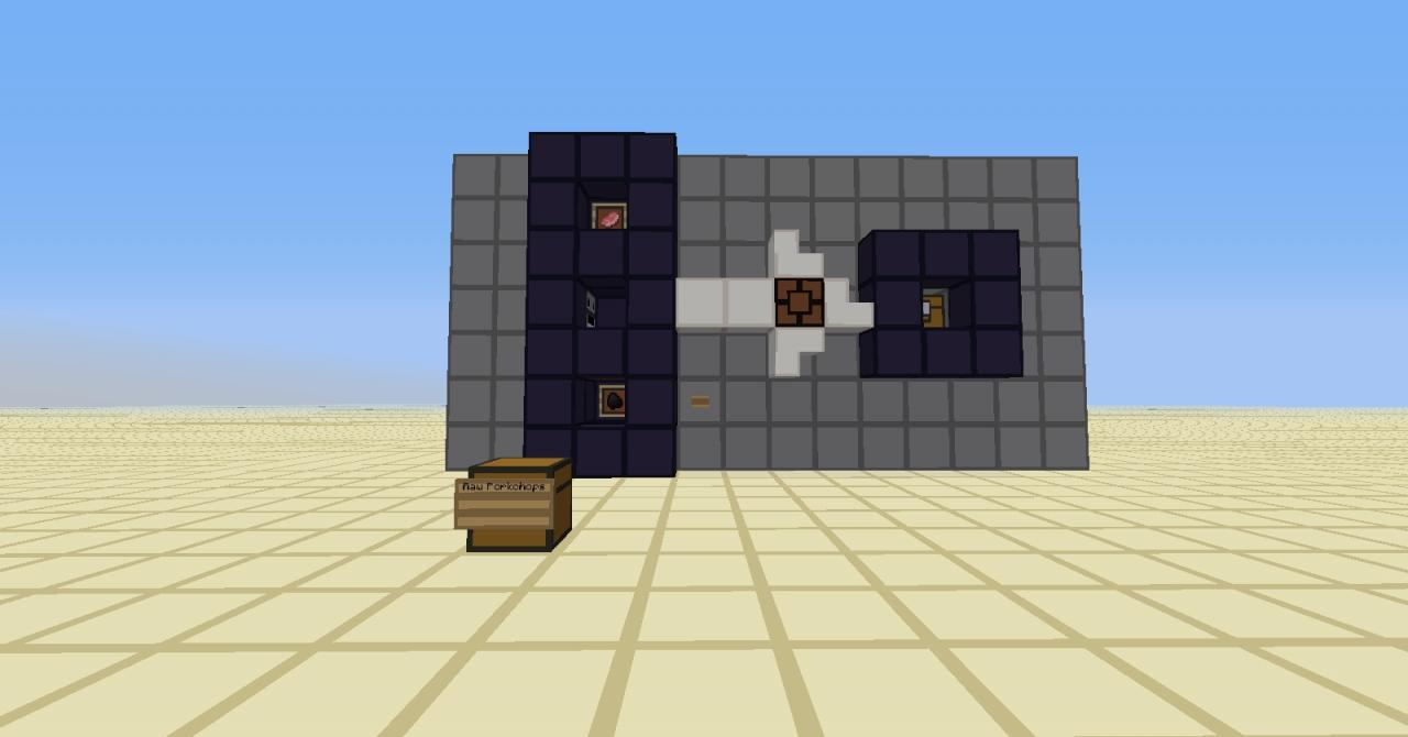 Hopper furnace contraption minecraft project for How to craft a furnace in minecraft