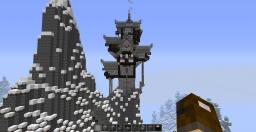 Nordic Wizard Tower Minecraft Project