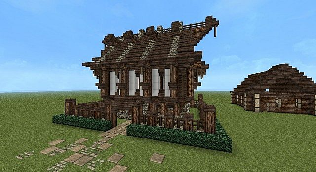 medieval viking house minecraft project