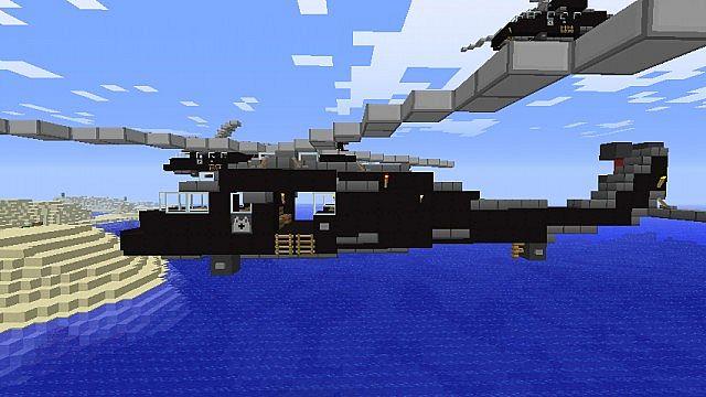 Uh 60 Blackhawk Minecraft Project