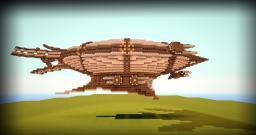 Steampunk Airship (Modified) Minecraft