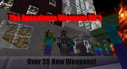 The Apocalypse Weapons Kit 3 - Over 35 Weapons!! - Guns, Knifes, Grenades and More! Minecraft
