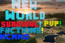The NewWorld || Factions || PvP || Survival || HungerGames || Unique 24/7 Minecraft Server
