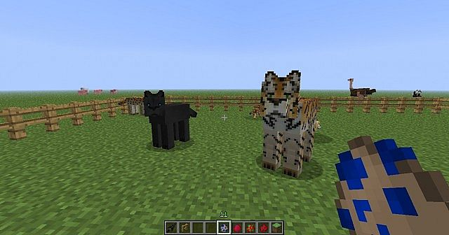how to build creatures in minecraft
