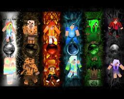 Elemental -Boy Girl Skin Series- ♦!!FINISHED!!♦ Minecraft Blog Post