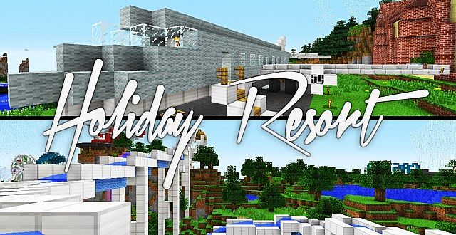 Holiday Resort - Hunger Games edition - Free download Minecraft Project