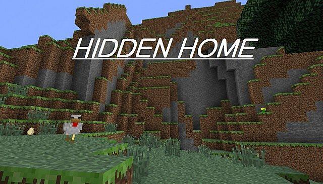 Hidden Home Secret Escape Route Minecraft Project