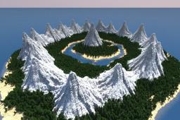 Hidden Valley [survival][custom] Minecraft Map & Project