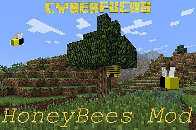 FORGE/1 4 7|1 4 6] HoneyBees Mod Minecraft Mod