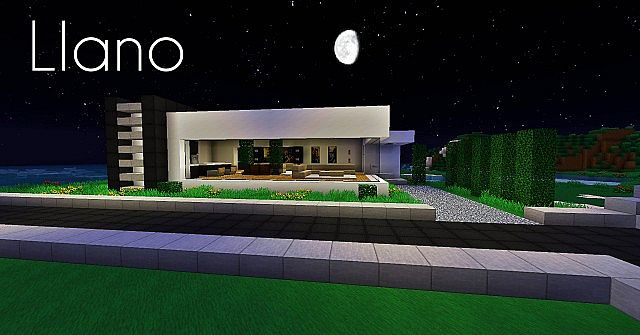 llano minimalist house minecraft project