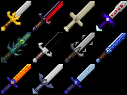 Мод на двуручное оружие в майнкрафт 1.5.2